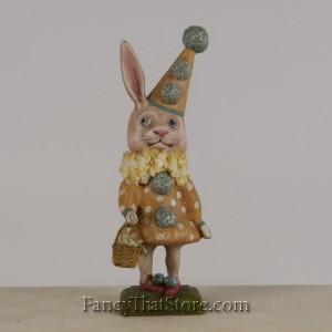 Bunny in Yellow Dress b y Debra Schoch