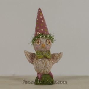 Spring Hoot Owl by Debra Schoch