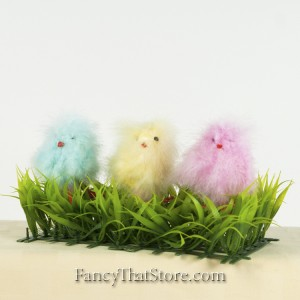 Fluffy Chicks Set of 3 from Bethany Lowe