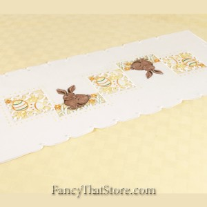 Sunny Bunny Table Runner