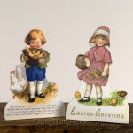 Child and Chicks Dummy Boards Set of 2 from Bethany Lowe