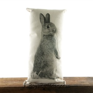 Bunny Pillow I by Eric and Christopher