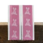 Pink Bunny Dish Towel
