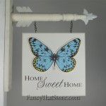 Home Sweet Home Arrow Plaque