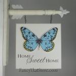 Home Sweet Home Arrow Plaque