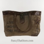 Live Work Create Bag from Mona B