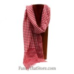 Houndstooth Chilli Pepper Scarf from Mona B