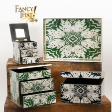 Reverse Painted Jewelry Box Portfolio