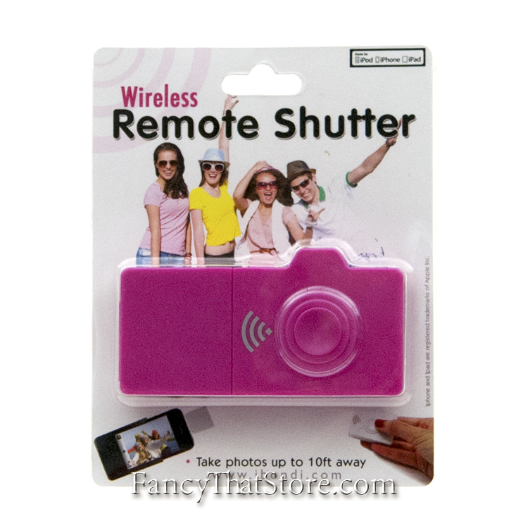 Wireless iPhone Camera Shutter Remote Control