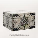 Two Tier Artisan Jewelry Box from Peru