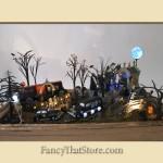 Grave Digger Department 56 Halloween Diorama