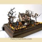 Skeletons In My Yard Department 56 Halloween Diorama