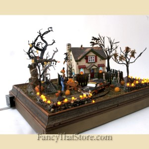 Skeletons In My Yard Department 56 Halloween Diorama